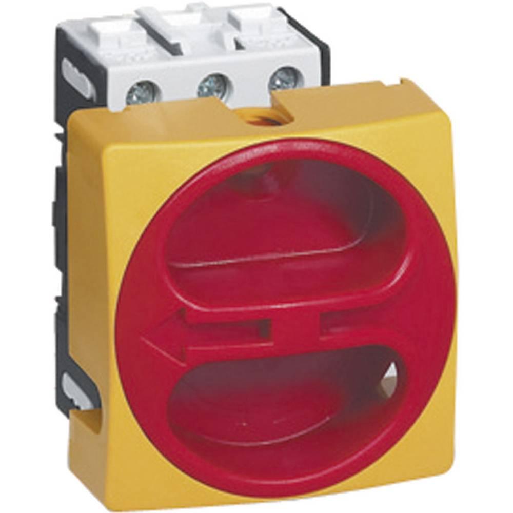 BACO 0172501-Ločilno stikalo, 100A, 1x90°, rumeno, rdeče, 3-polni, 1 kos BA0172501
