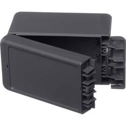 Kabinet til montering på væggen, Installationskabinet 80 x 151 x 90 ABS Grafitgrå (RAL 7024) Bopla Bocube B 140809 ABS-7024 1 st