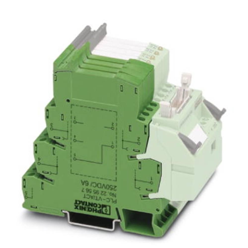 Durchgangsklemme (value.1292905) 10 stk Phoenix Contact PLC-VT/ACT/LA 18 - 33.6 V/DC