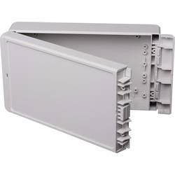Kabinet til montering på væggen, Installationskabinet 125 x 231 x 60 ABS Lysegrå (RAL 7035) Bopla Bocube B 221306 ABS-7035 1 stk
