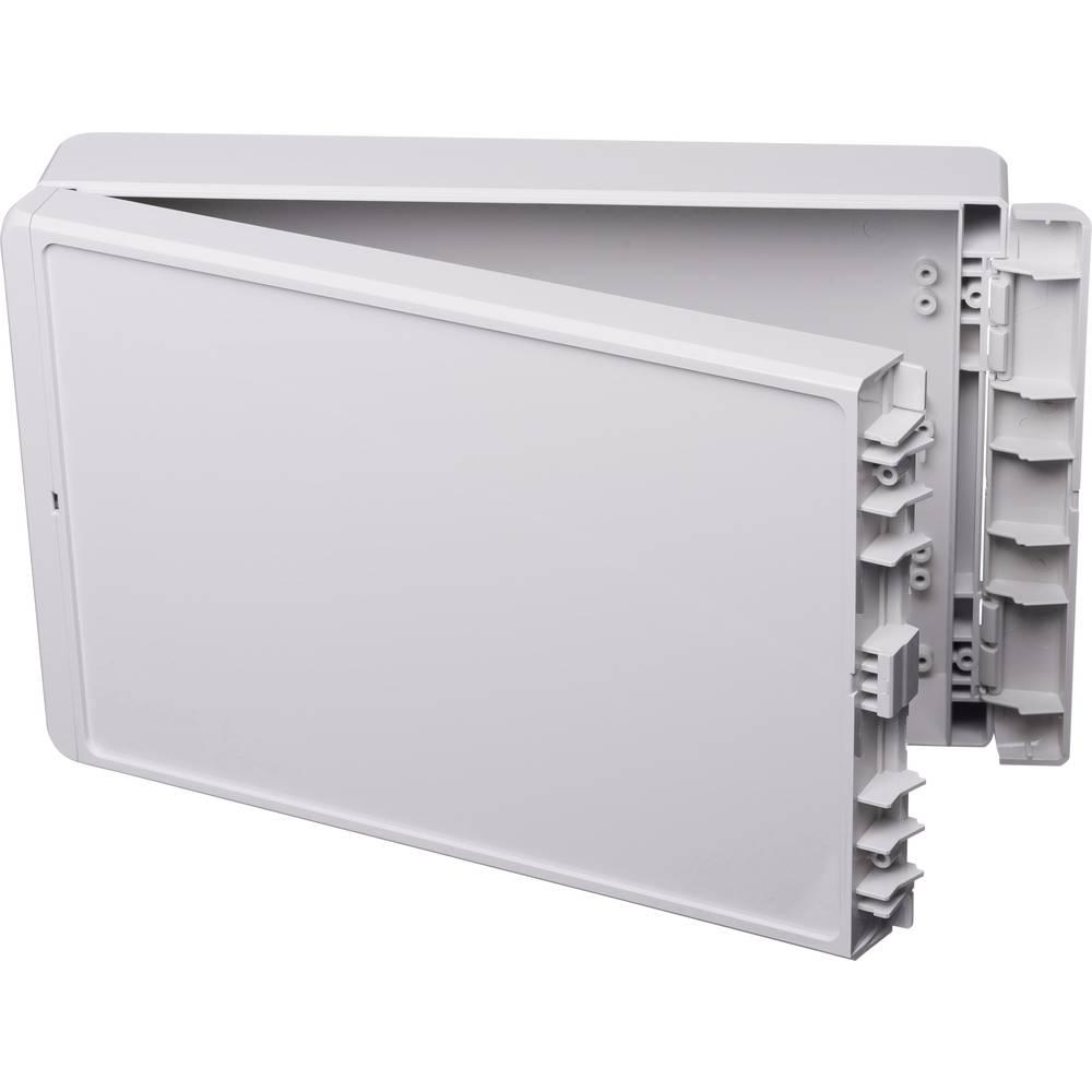 Kabinet til montering på væggen, Installationskabinet 170 x 271 x 60 ABS Lysegrå (RAL 7035) Bopla Bocube B 261706 ABS-7035 1 stk