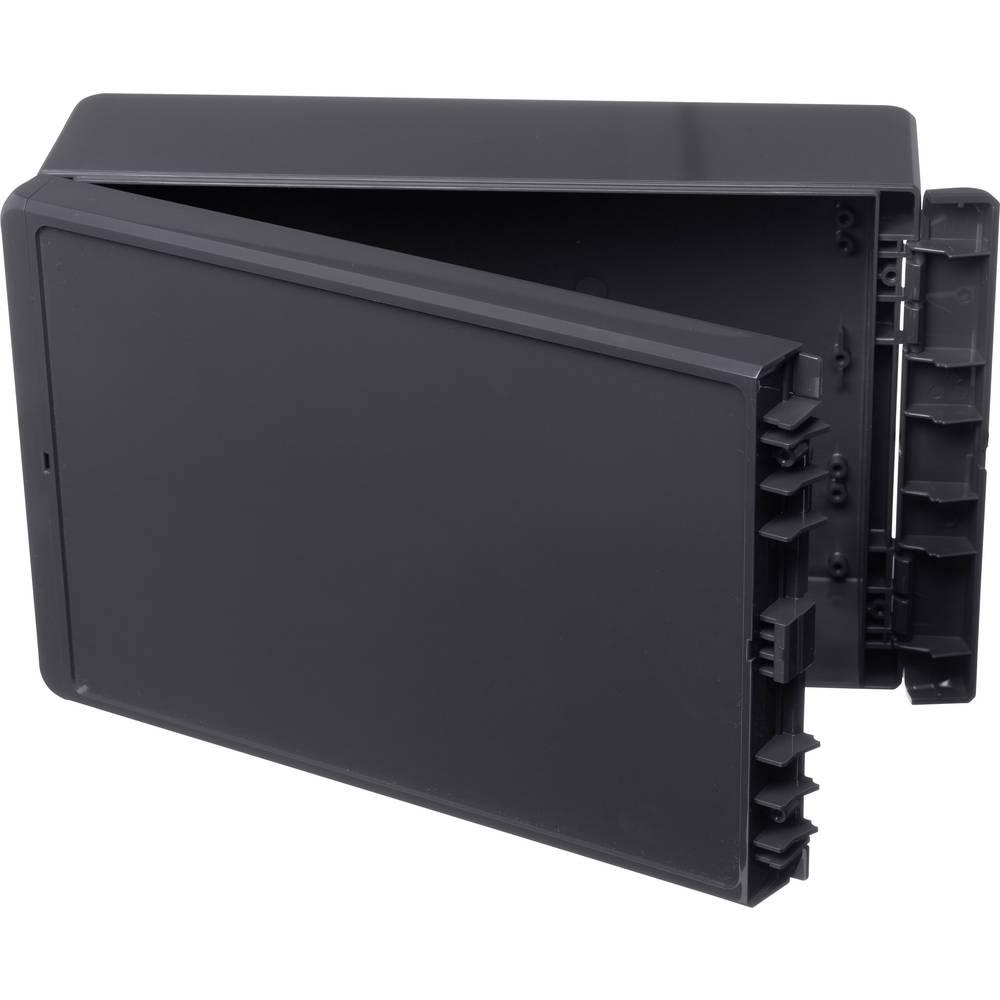 Kabinet til montering på væggen, Installationskabinet 170 x 271 x 90 ABS Grafitgrå (RAL 7024) Bopla Bocube B 261709 ABS-7024 1 s
