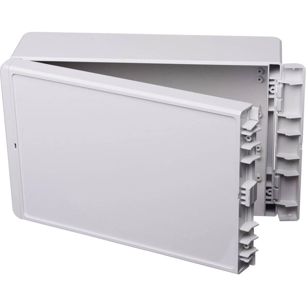 Kabinet til montering på væggen, Installationskabinet 170 x 271 x 90 ABS Lysegrå (RAL 7035) Bopla Bocube B 261709 ABS-7035 1 stk