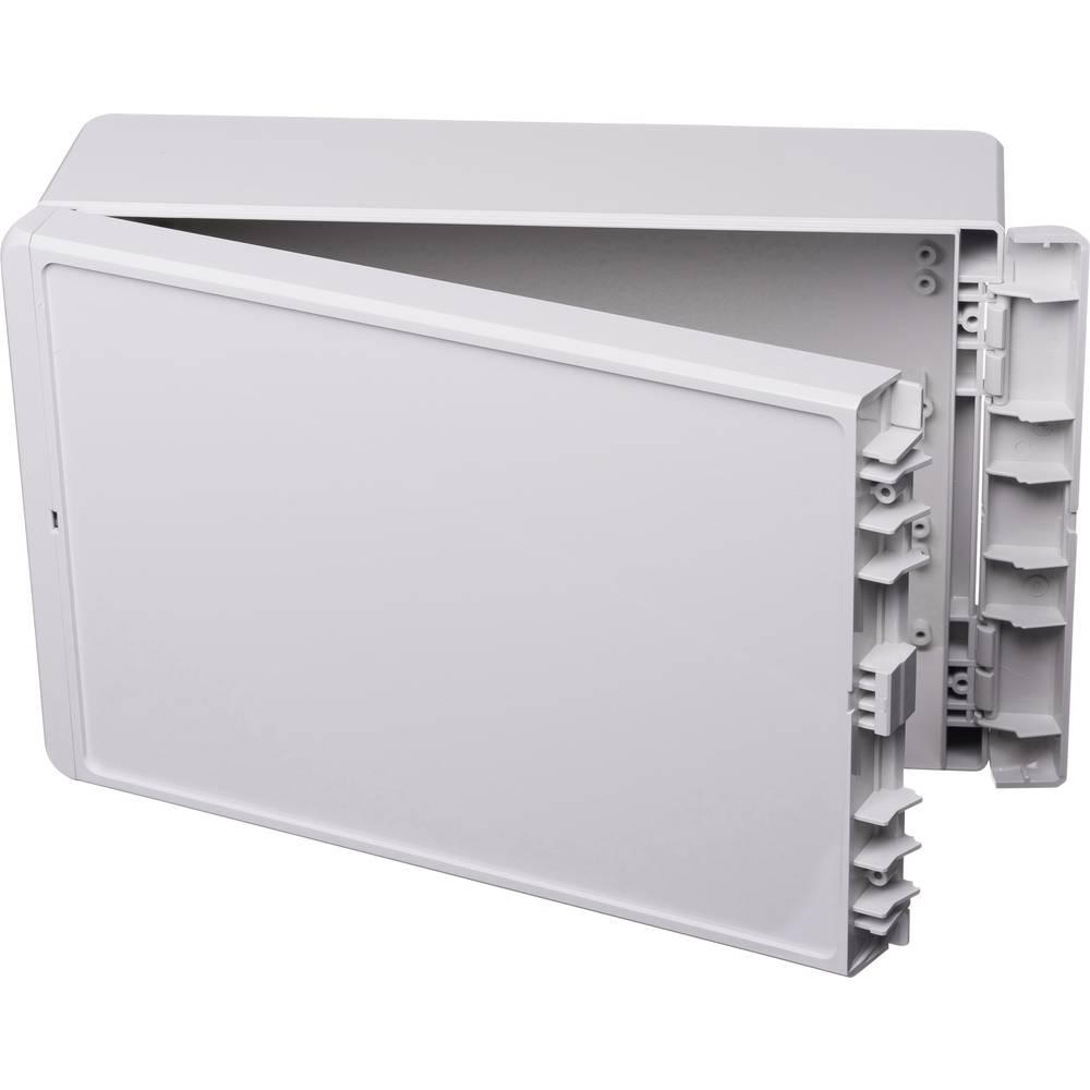 Kabinet til montering på væggen, Installationskabinet 170 x 271 x 90 Polycarbonat Lysegrå (RAL 7035) Bopla Bocube B 261709 PC-V0