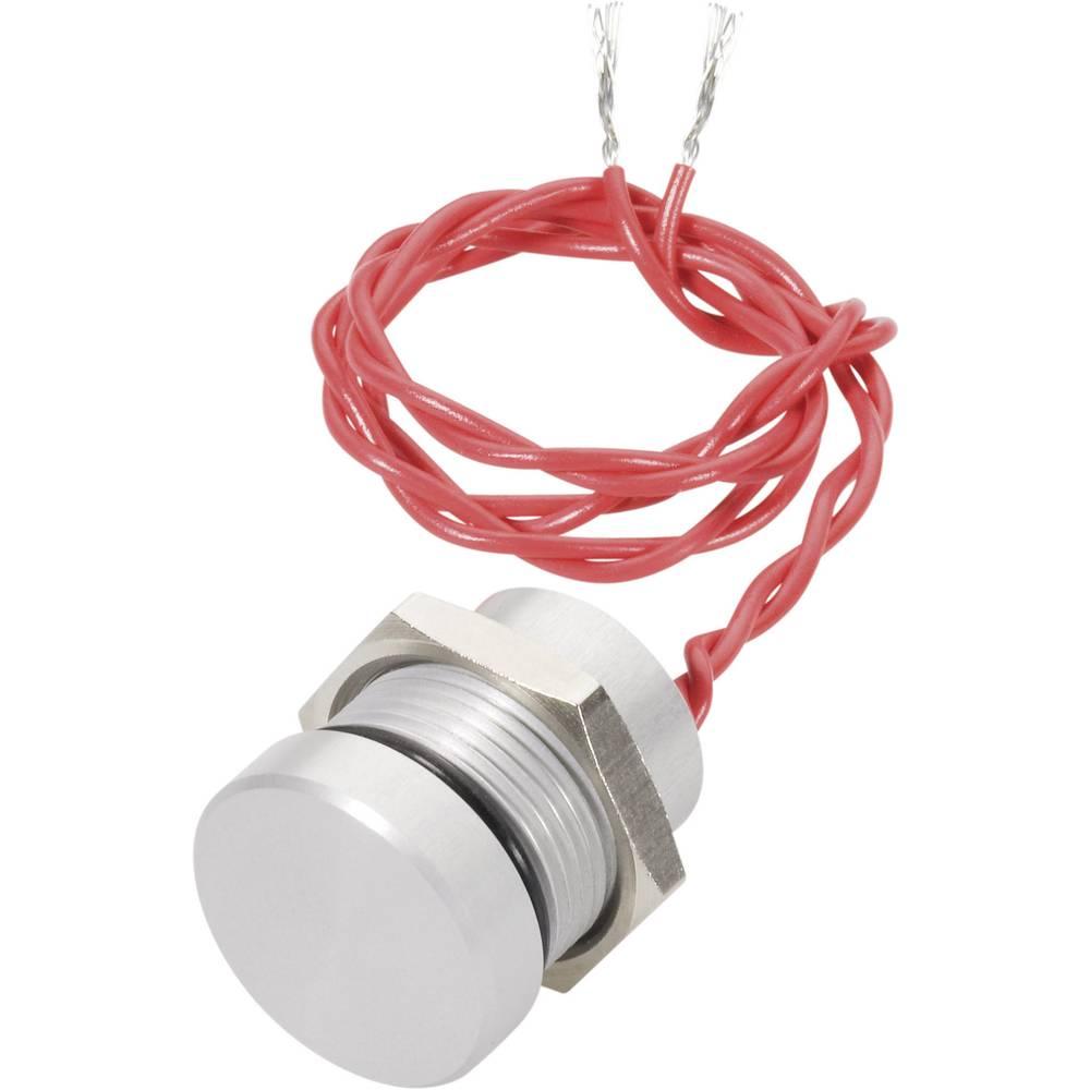 APEM PBAR1AF6000-Piezo tipkalo, crveno, 300mm pramenka, 24V DC/AC, 0.2A, 1 x isključeno/(uključeno), IP69K, tipkalno, 1 komad