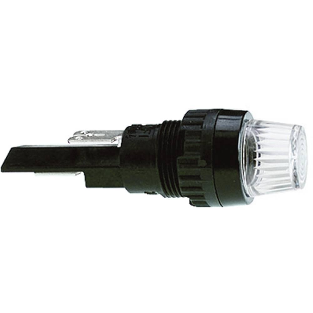 Industrijsko pakirane signalne luči s podnožjem za žarnico 250 V 2 W podnožje=BA9s zelena (prozorna) RAFI vsebina: 250 kosov