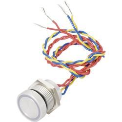 Piezotast APEM PBARZAFB000G2A IP69K 24 V DC/AC 0.2 A 1 x Off/(On) 1 stk
