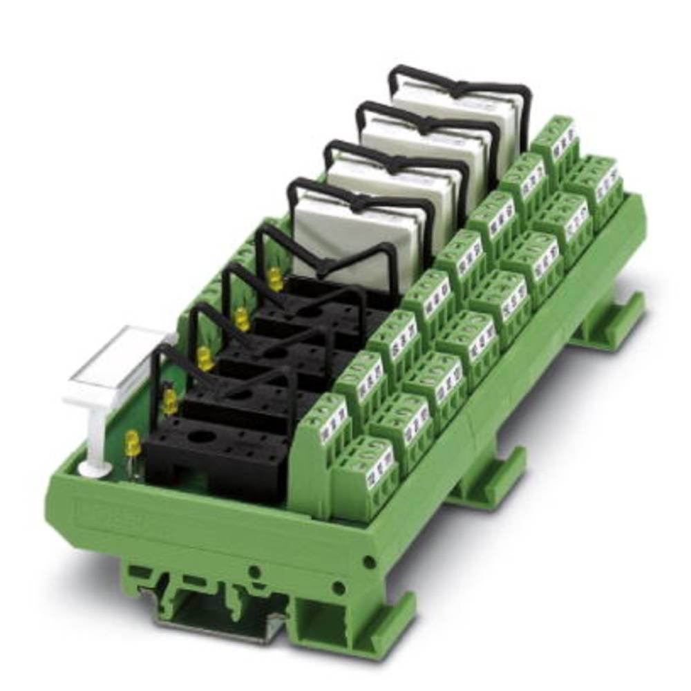Relaisplatine (value.1292961) uden udstyr 1 stk Phoenix Contact UMK- 8 RELS/KSR-24/21/21 2 Wechsler (value.1345274) 24 V/DC