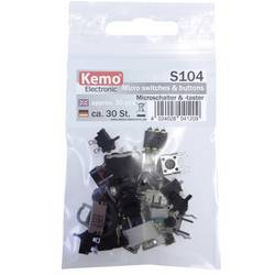 Mikro stikalo Kemo S104, komplet