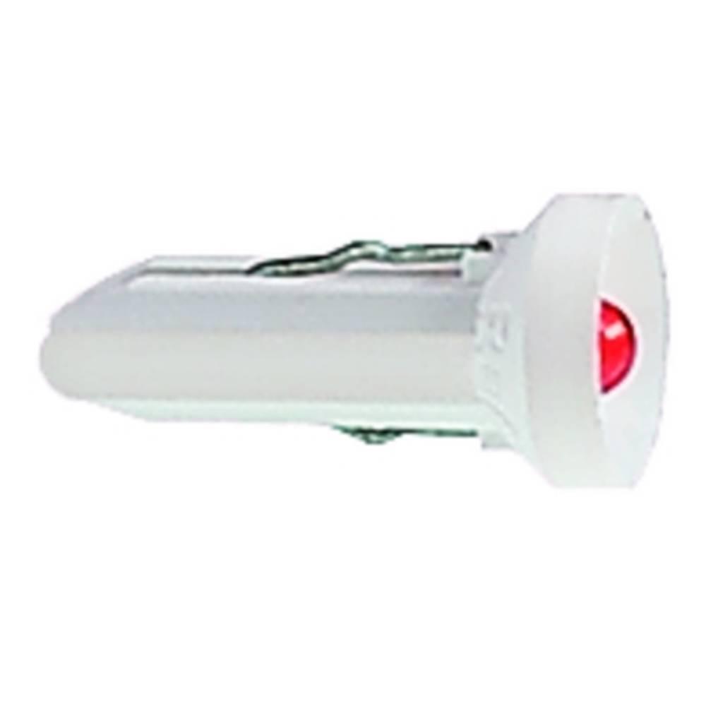 LED 2 - 3 V podnožje: T4.5 rdeča RAFI vsebina: 10 kosov