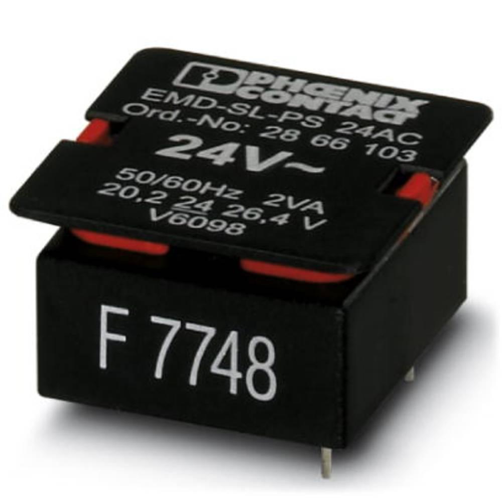 Powermodul til overvågningsrelæ 1 stk Phoenix Contact EMD-SL-PS- 24AC Passer til serie: Phoenix Contact Serie EMD-SL