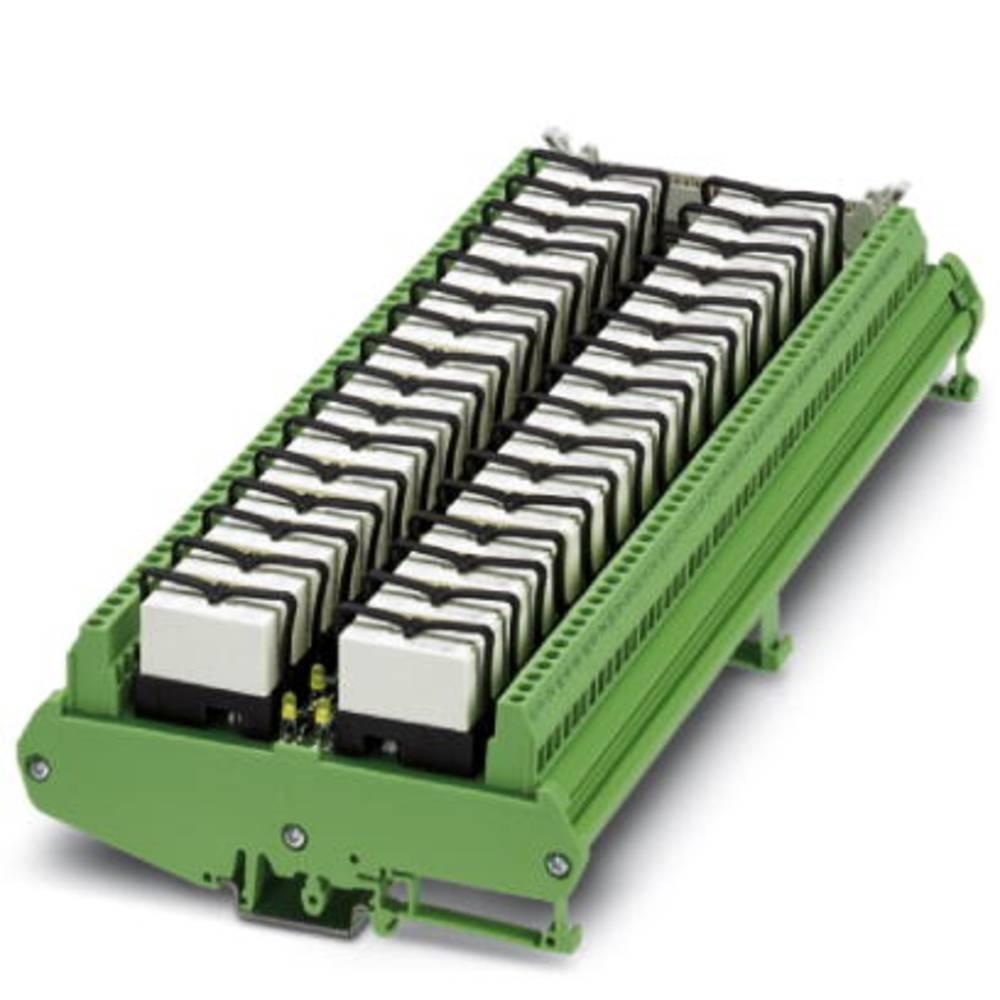 Relejsko tiskano vezje, opremljeno 1 kos Phoenix Contact UM-32 RM/RT-G24/21/PLC 1 izmenjevalnik 24 V/DC