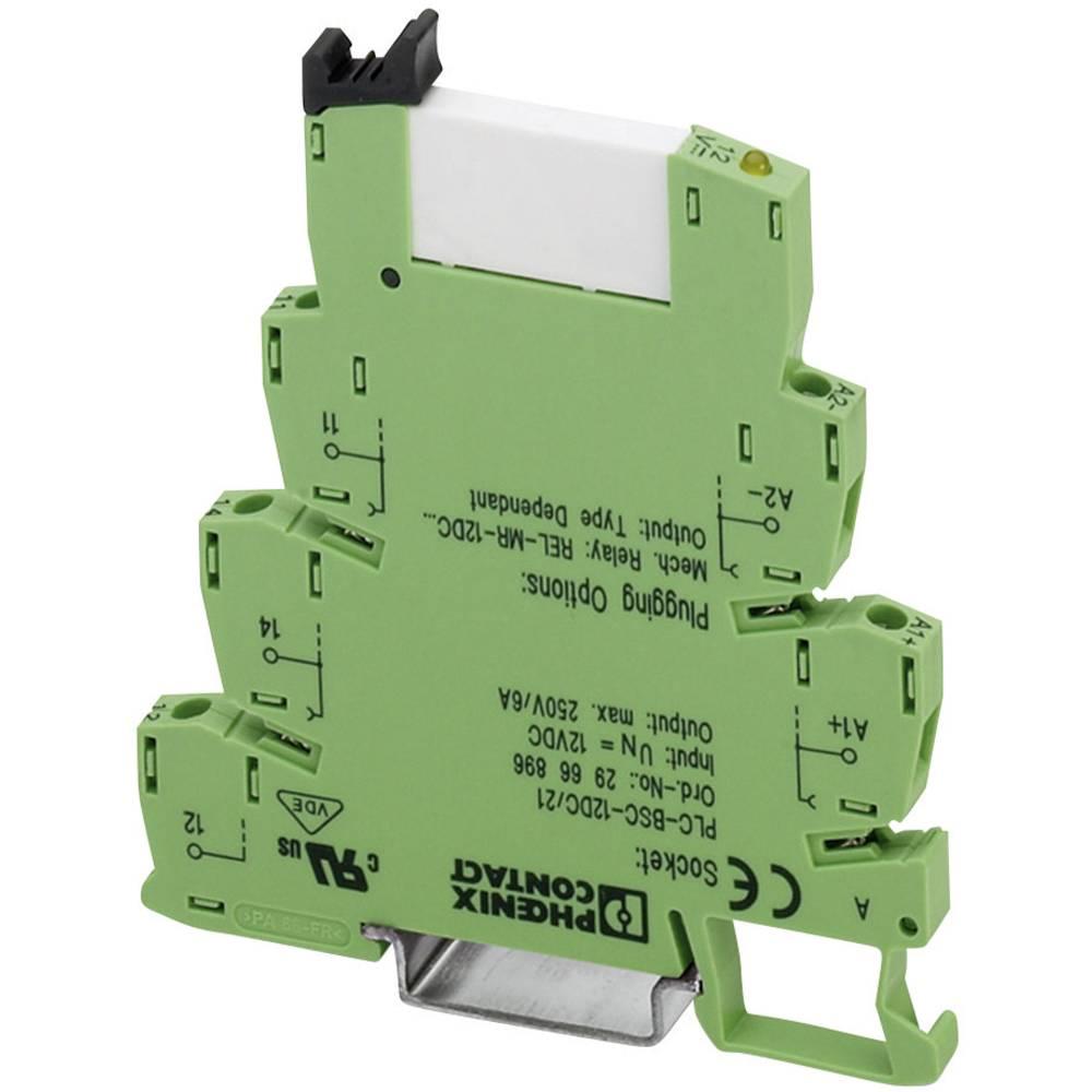 Časovni rele, monofunkcijski 24 V/DC 10 kosov Phoenix Contact PLC-RSC- 24DC/PMC T200/21HC 1 izmenjevalnik