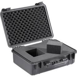 Univerzalni kovček za orodje, brez vsebine Basetech 708503 (D x Š x V) 460 x 460 x 175 mm