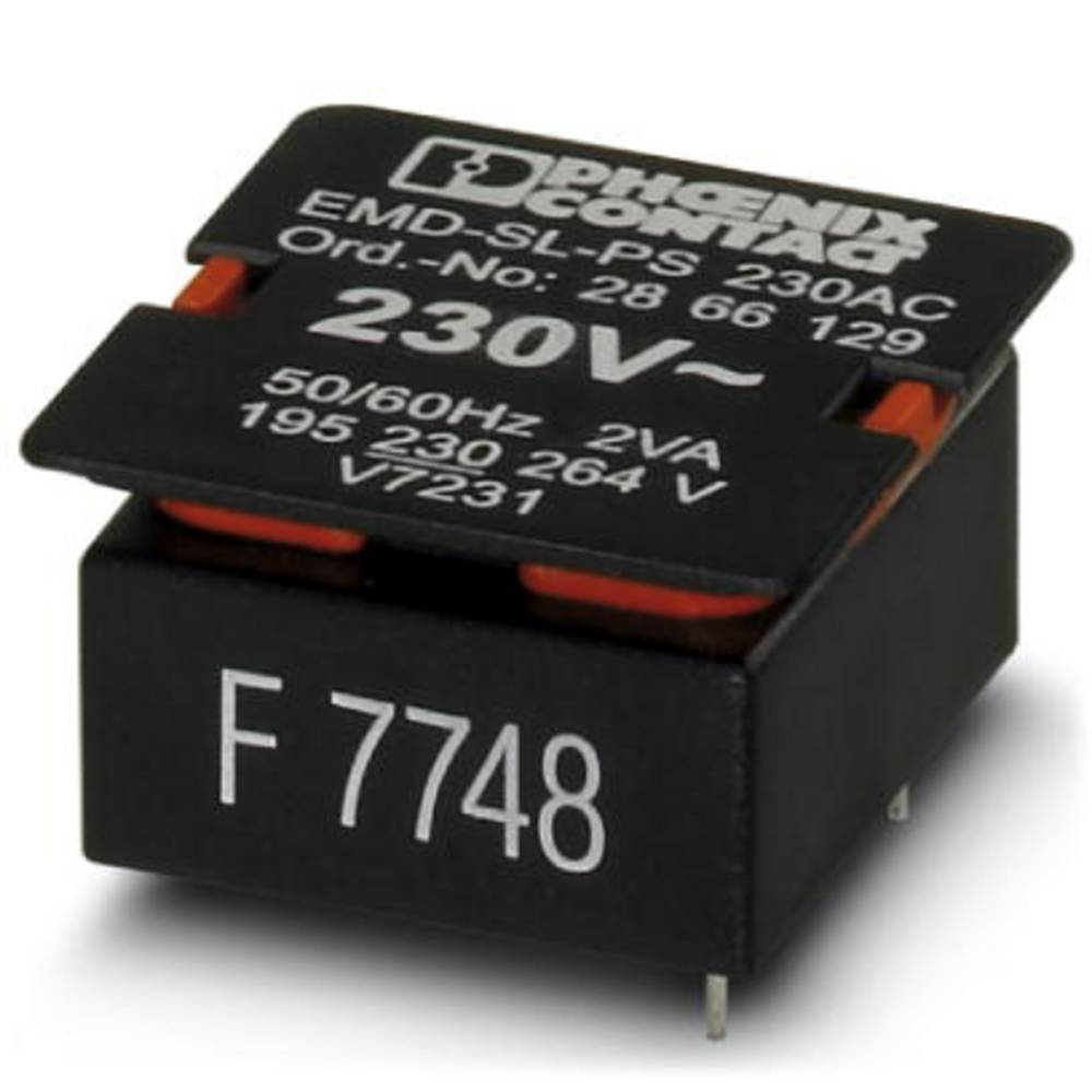 Powermodul til overvågningsrelæ 1 stk Phoenix Contact EMD-SL-PS-230AC Passer til serie: Phoenix Contact Serie EMD-SL