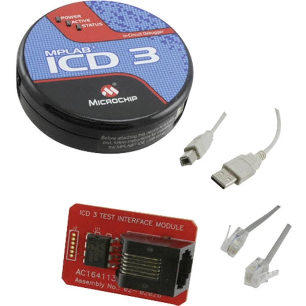 Razhroščevalnik/programator Microchip Technology MPLAB ICD 3In-Circuit Debugger DV164035