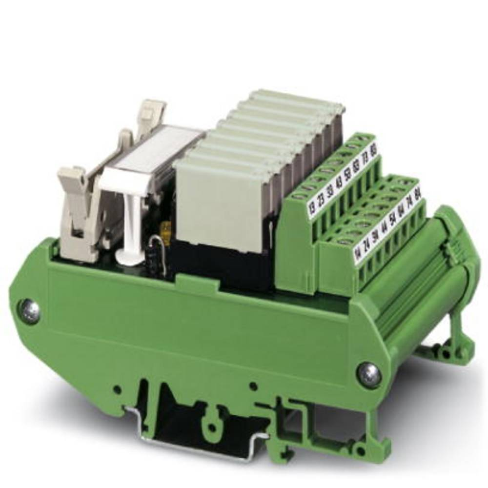 Relæprintplade bestykket 1 stk Phoenix Contact UMK- 8 RM/MR-G24/ 1/PLC 1 x sluttekontakt 24 V/DC