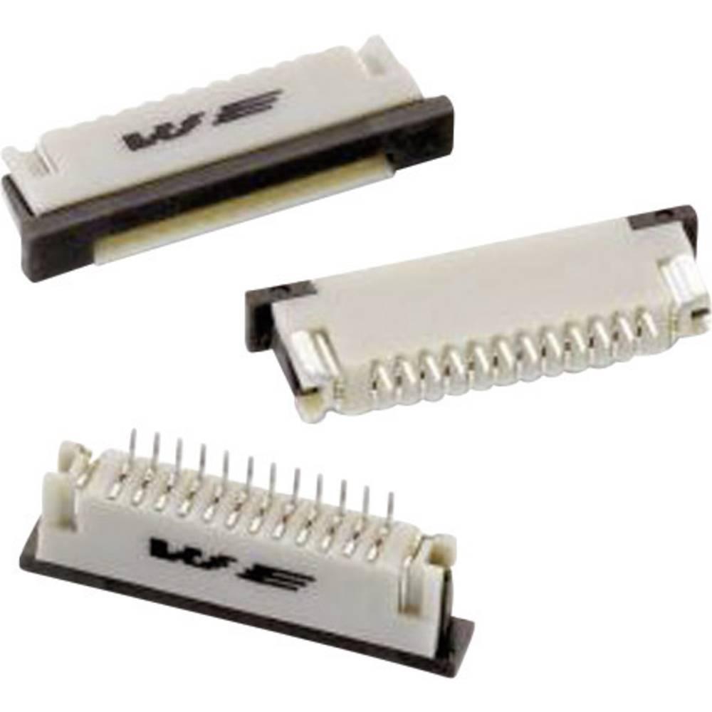 Bøsningsliste (standard) ZIF FPC Samlet antal poler 20 Würth Elektronik 68612014422 Rastermål: 1 mm 1 stk