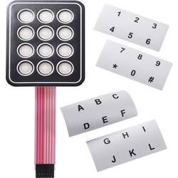 Folietastatur APEM AC3535 Matrix 4 x 4 30 V/DC 1 stk