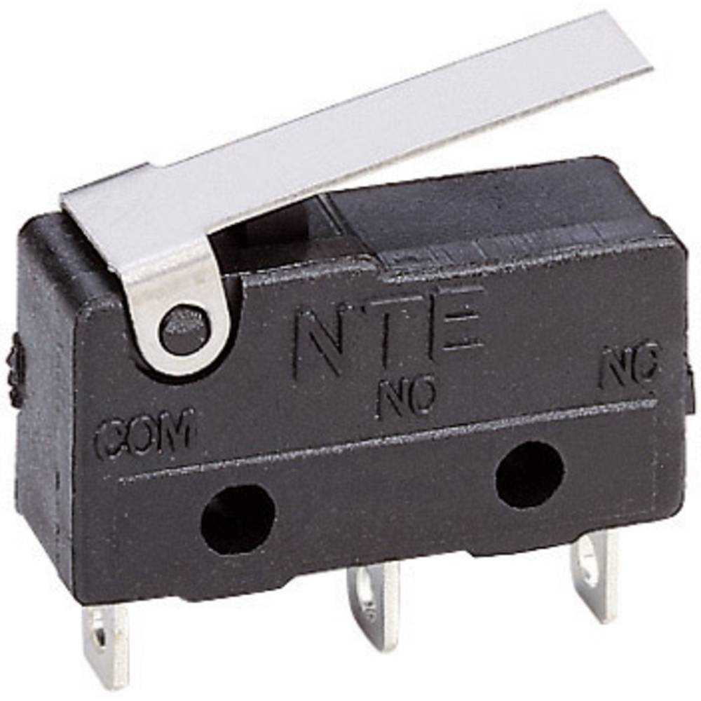 Miniaturni mikroprekidač 250 V/AC 1-polni preklopni kontakt