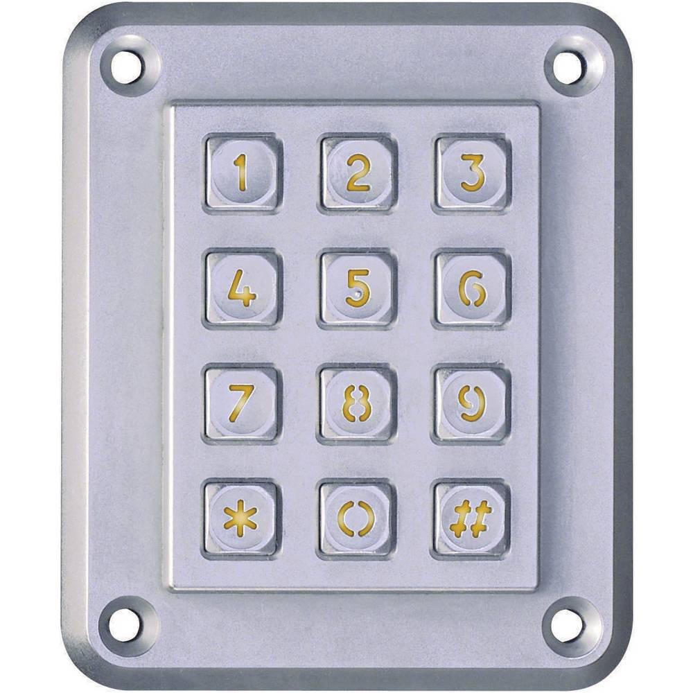 EAO Secme Zaščitna stenska tipkovnica SOLID 100 Matrix rumena osvetlitev S 12 150 141