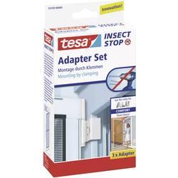 Adapter za aluminijasti okvir mreže za žuželke Tesa Comfort 55193-00, bele barve