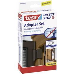 Adapter za aluminijasti okvir mreže za žuželke Tesa Comfort 55193-01, rjave barve