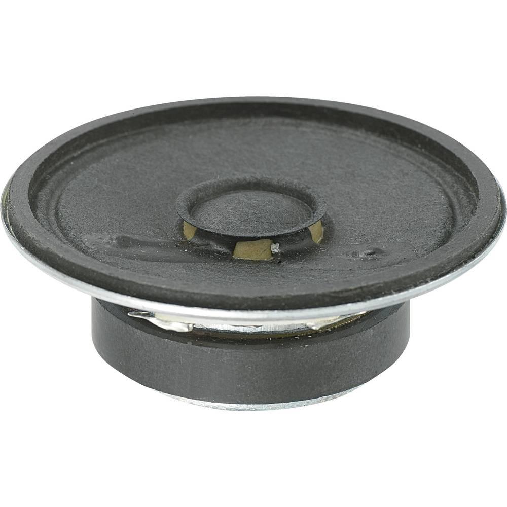 Miniaturni zvočnik KP 88 dB +3 dB 8 Ohm, nazivna moč: 0.25W 450 Hz + 20 % KP50170SP1-5807 KEPO