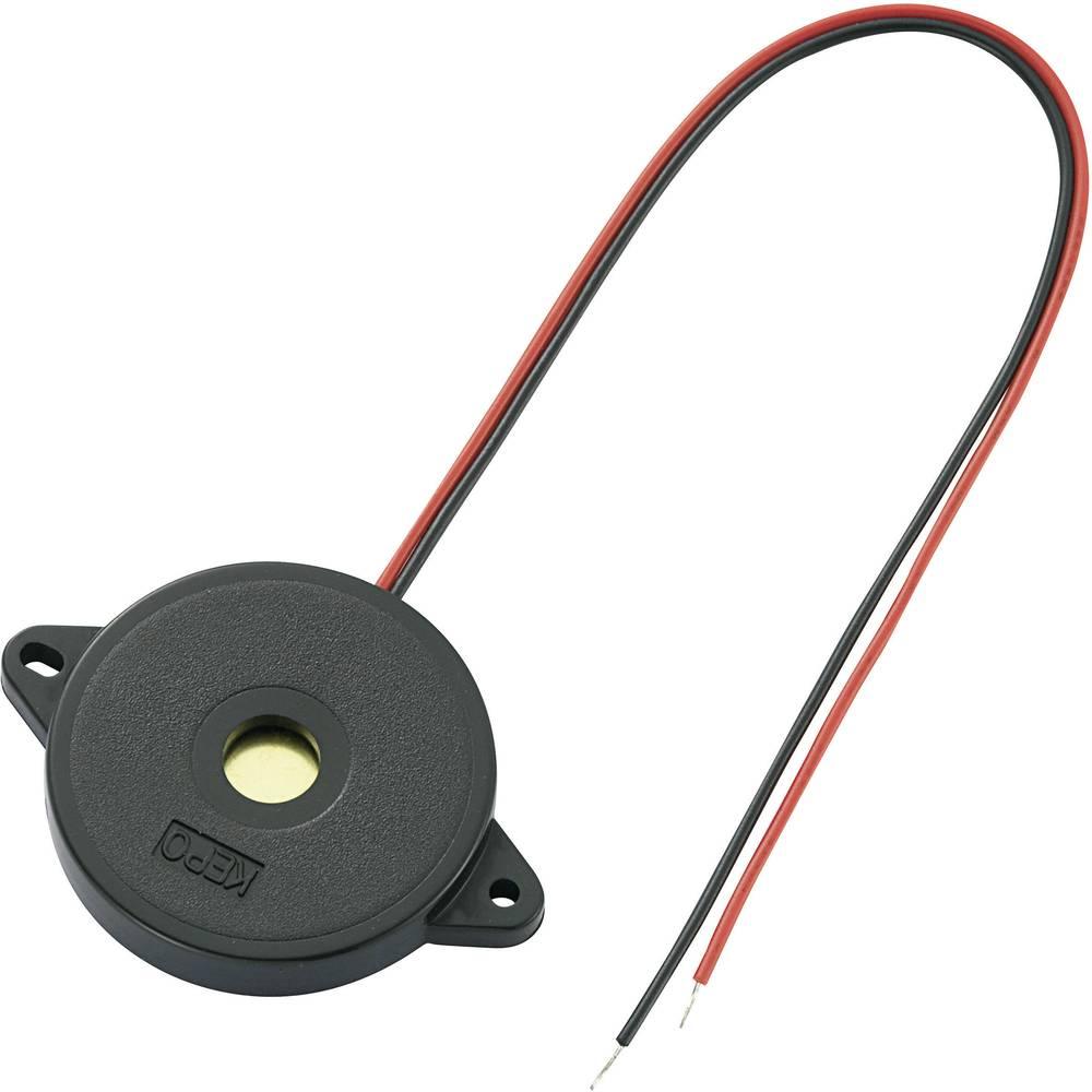 Piezo-alarm (value.1782093) Støjudvikling: 75 dB Spænding: 12 V Kontinuerlig lyd (value.1730255) KEPO KPR-G3010-6250 1 stk