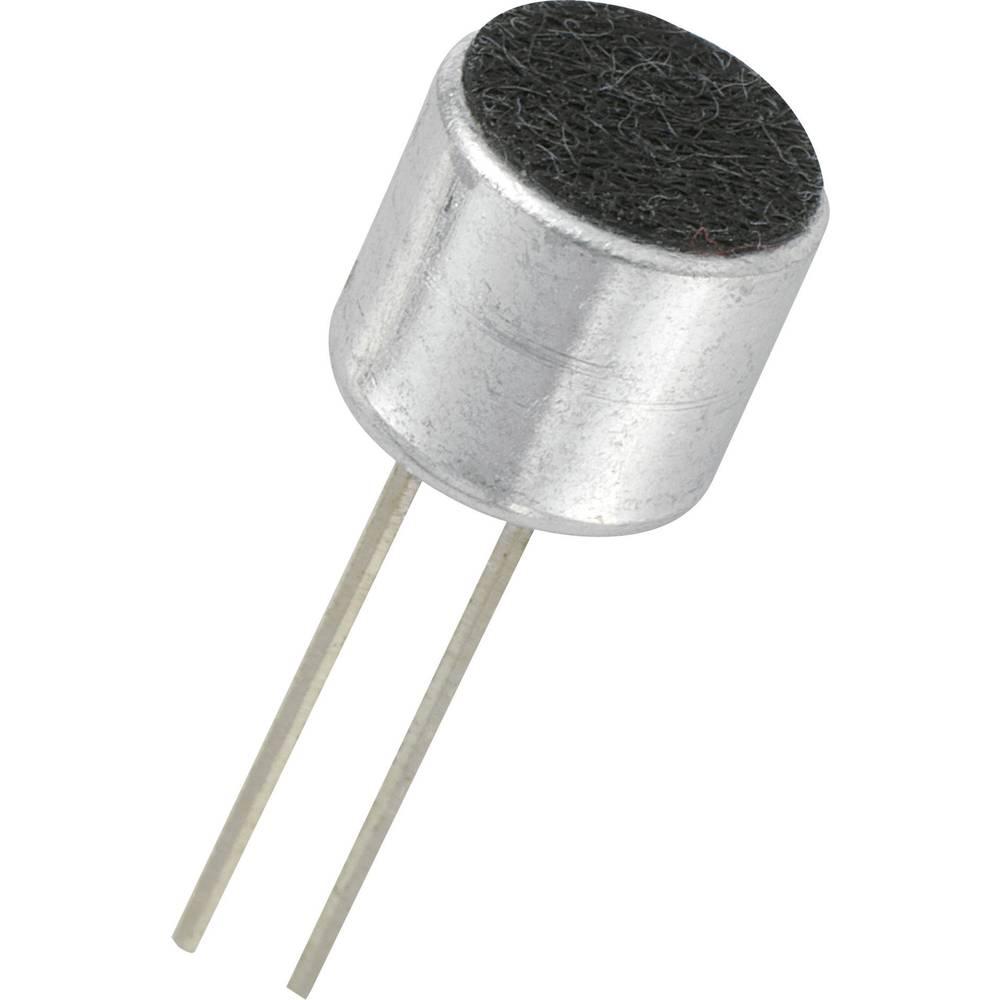Mikrofonkapsel KPCM-serie Driftsspænding: 2 V/DC Følsomhed: 44 dB ± 3 dB Frekvensområde: 20 - 16000 Hz