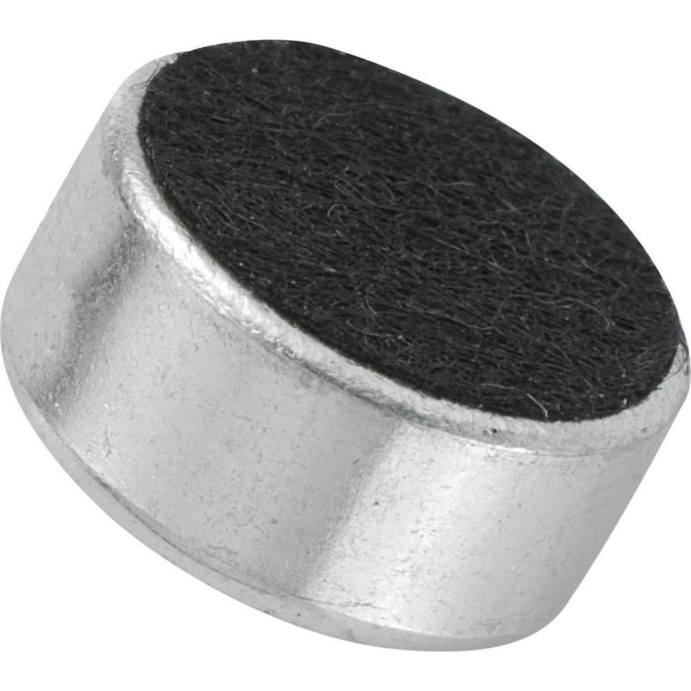 Glava mikrofona KPCM, 4,5 V/DC, občutljivost: 43 dB + 3 dB,,občutljivost: 43 dB + 3 dB, KPCM-G97H45-43dB-1186 KEPO