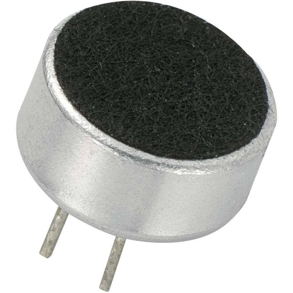 Glava mikrofona KPCM, 4,5 V/DC, osjetljivost: 43 dB + 3 dB KPCM-G97H45P-43dB-1187 KEPO