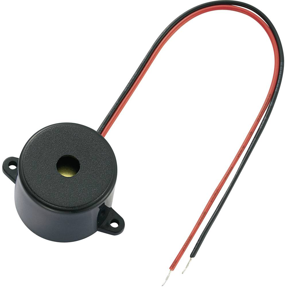 Piezo zujalo KPI, glasnoća: 88dB, 9 V/DC, potrošnja struje15 mA KPI-G2312L-6259 KEPO