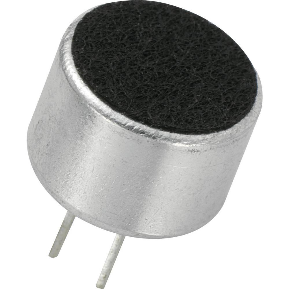 Glava mikrofona KPCM, 4,5 V/DC, občutljivost: 41 dB + 3 dB,,občutljivost: 41 dB + 3 dB, KPCM-G97H67P-43dB-1188 KEPO