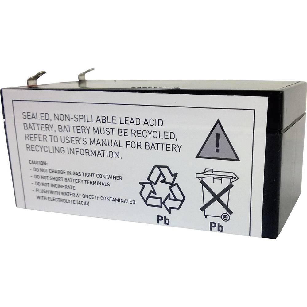 Akumulator za UPS Conrad energy zamjenjuje originalni akumulator RBC47 za modele BE325, BE325-CN, BE325-IT, BE325-JP, BE325-LM,