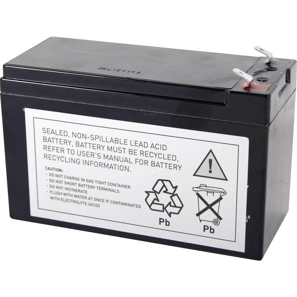 Akumulator za UPS Conrad energy zamjenjuje originalni akumulator RBC17 za modele 515-970, BE650BB, BE650BB-CN, BE650G, BE650R