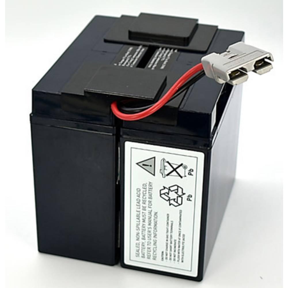 Akumulator za UPS Conrad energy zamjenjuje originalni akumulator RBC55 za modele DLA2200, NECA3000JW, SMT2200, SMT2200US, SMT300