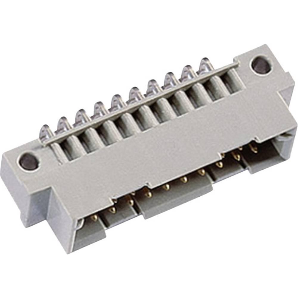 Hankonnektor 101-80014 Samlet poltal 20 Antal rækker 2 ept 1 stk
