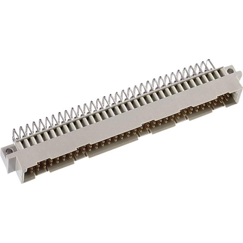 Hankonnektor DIN 41612 Type C32M ac 3 mm 90 ° (2,4,6 ..) Samlet poltal 32 Antal rækker 3 ept 1 stk