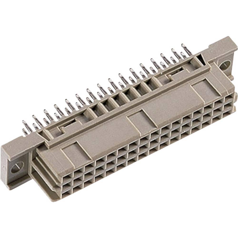 Multistikfatning DIN 41 612 Type C / 2 48F-FET abc 3.4mm straight Samlet poltal 48 Antal rækker 3 ept 1 stk