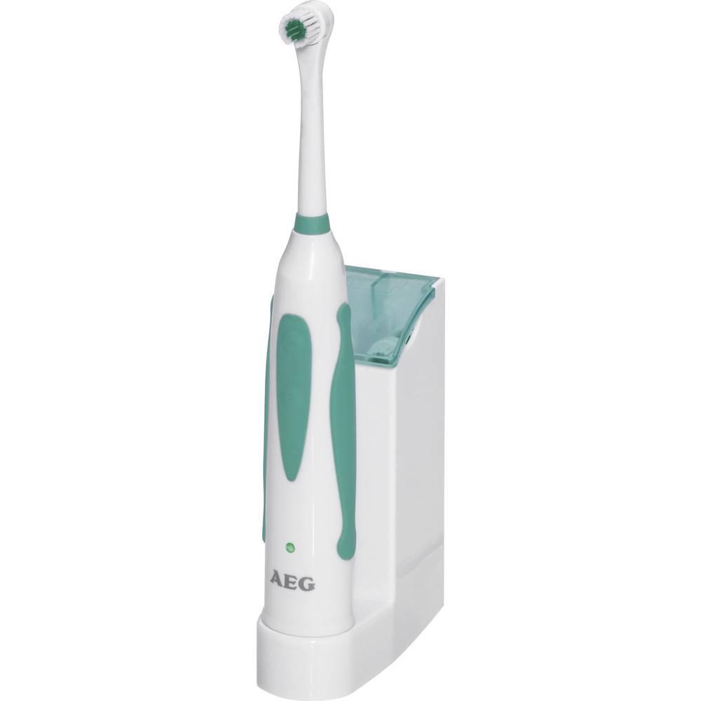 Električna/akum. zobna ščetkaAEG EZ 5623, 520623, polnilnapostaja s predalom za nastavke