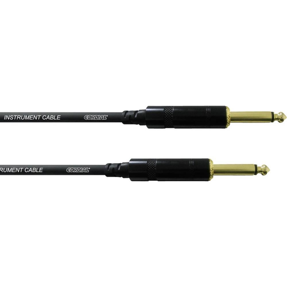 Instrument Kabel [1x Teleplugg 6.35 mm - 1x Teleplugg 6.35 mm] 3 m Svart Cordial CCI 3 PP