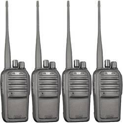 Freenet-radio TeCom-SL kuffert sæt med 4 stk. Team Electronic PR8572 TeCom-SL Sæt med 4 stk.