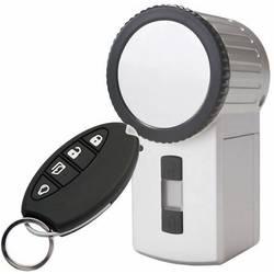 HomeMatic 131762 KeyMatic brezžično prožilo za zaklepanje vrat, srebrne barve, vklj. daljinski upravljalnik
