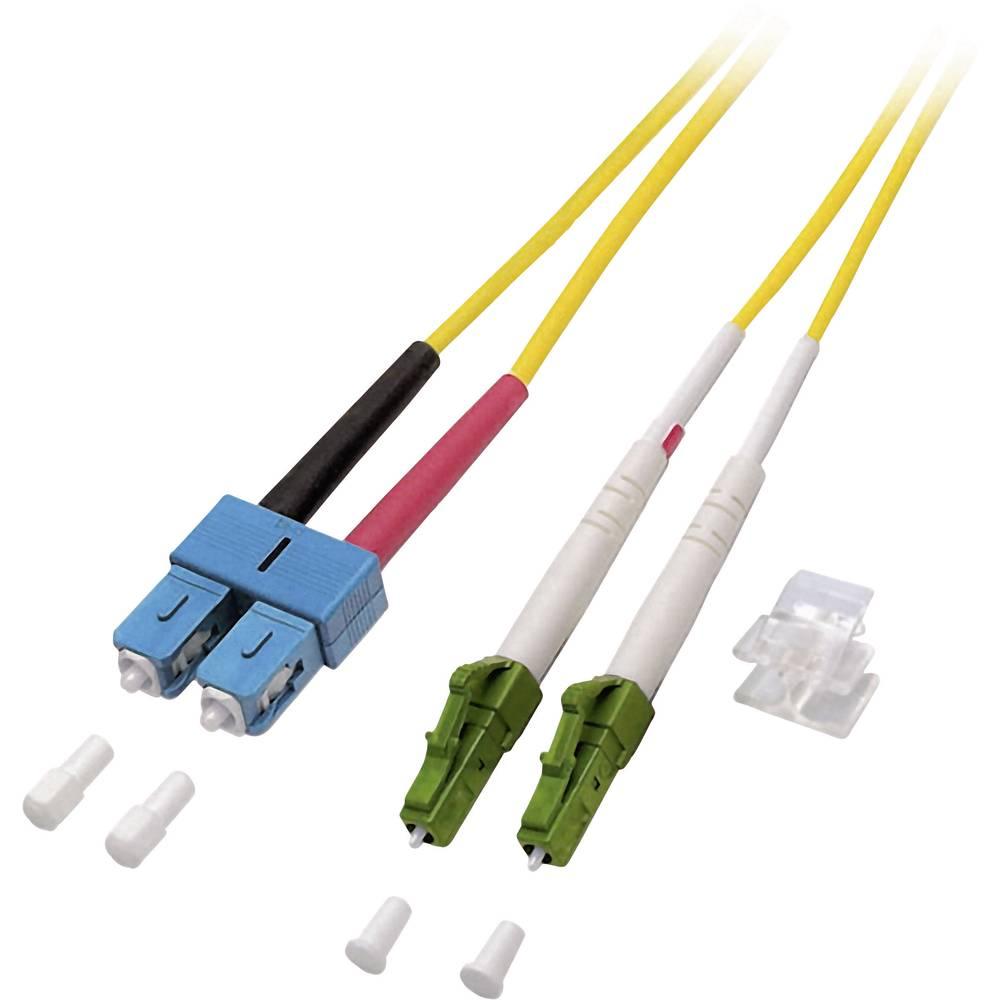 Optični priključni kabel [1x LC/APC 8° vtič - 1x SC vtič] 9/125µ Singlemode OS2 7.50 m EFB Elektronik