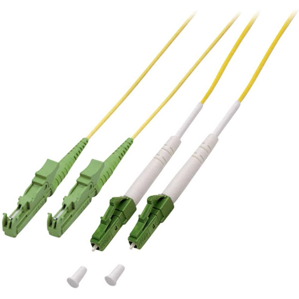 Optični priključni kabel [1x LC/APC 8° vtič - 1x E2000®/APC 8° vtič] 9/125µ Singlemode OS2 5 m EFB Elektronik