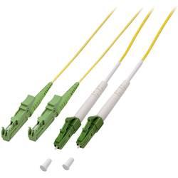 Optični priključni kabel [1x LC/APC 8° vtič - 1x E2000®/APC 8° vtič] 9/125µ Singlemode OS2 1 m EFB Elektronik