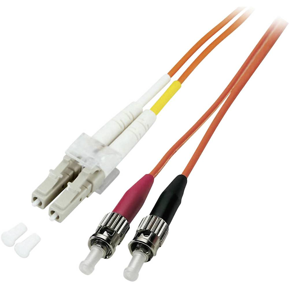 Optični priključni kabel [1x LC vtič - 1x ST vtič] 62,5/125µ Multimode OM1 20 m EFB Elektronik