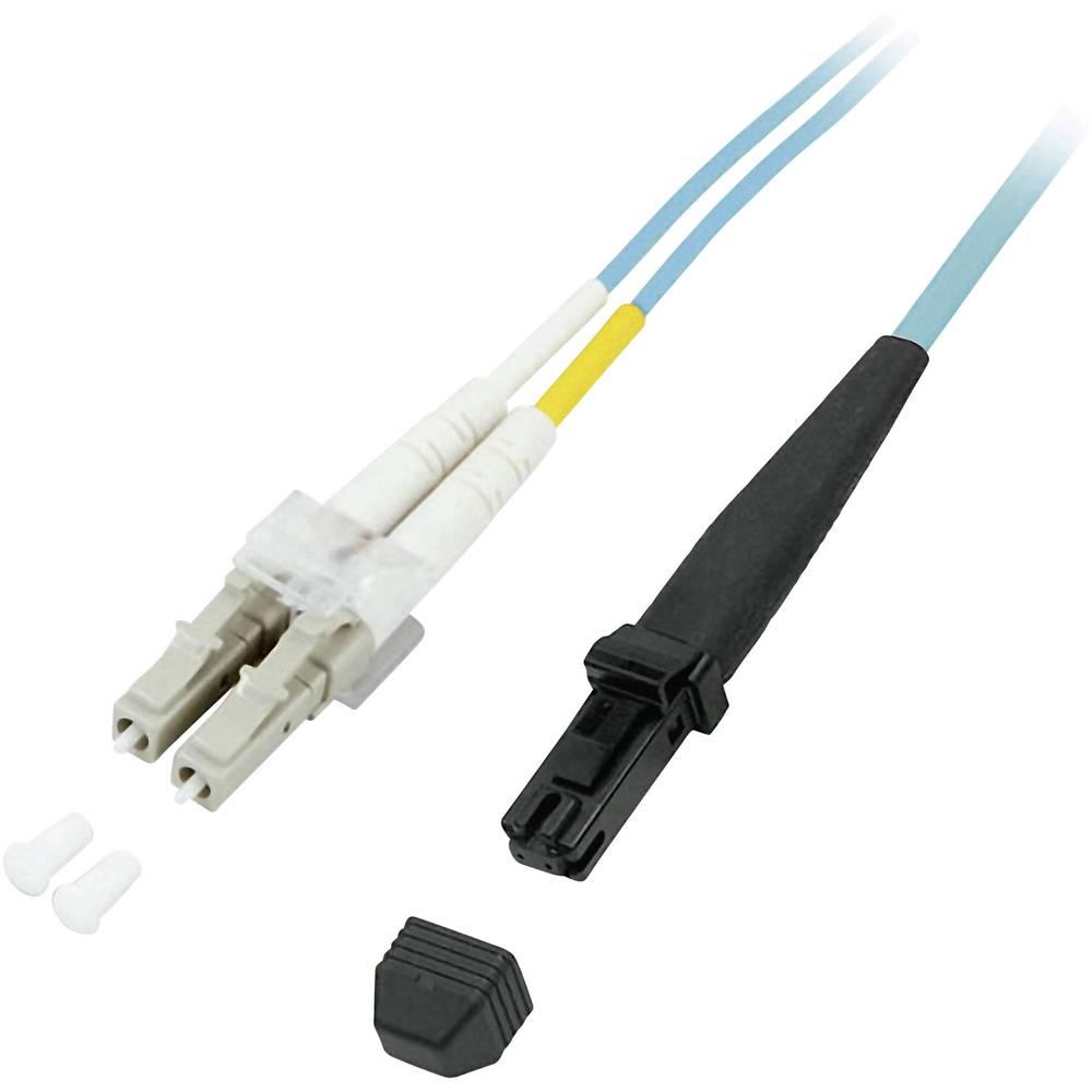 Optični priključni kabel [1x MTRJ vtič - 1x LC vtič] 50/125µ Multimode OM3 1 m EFB Elektronik
