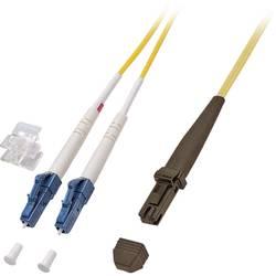 Optični priključni kabel [1x MTRJ vtič - 1x LC vtič] 9/125µ Singlemode OS2 1 m EFB Elektronik
